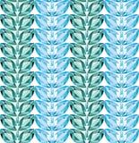 Το Aquamarine αφήνει το άνευ ραφής διάνυσμα σύστασης διανυσματική απεικόνιση
