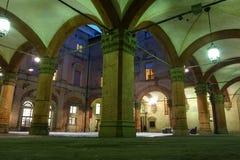 Το Archiginnasio της Μπολόνιας Στοκ Εικόνες