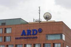 Το ARD Hauptstadtstudio στο Βερολίνο Στοκ Φωτογραφίες