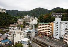 Το Arima, δημοφιλές καυτό θέρετρο άνοιξη στην Ιαπωνία Στοκ εικόνες με δικαίωμα ελεύθερης χρήσης
