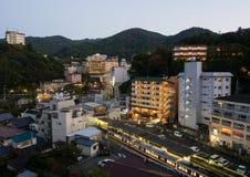 Το Arima, δημοφιλές καυτό θέρετρο άνοιξη στην Ιαπωνία Στοκ Εικόνα