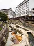Το Arima, δημοφιλές καυτό θέρετρο άνοιξη στην Ιαπωνία Στοκ φωτογραφίες με δικαίωμα ελεύθερης χρήσης