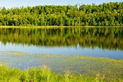 Το arxan νερό λιμνών ουρανού Στοκ φωτογραφία με δικαίωμα ελεύθερης χρήσης