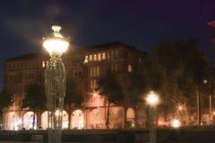 Το Augustaanlage στο Μανχάιμ Στοκ Φωτογραφία