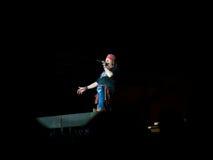 Το Axl αυξήθηκε στη συναυλία τριαντάφυλλων πυροβόλων όπλων Ν - όχι σε αυτόν τον γύρο southamerica διάρκειας ζωής στοκ φωτογραφίες