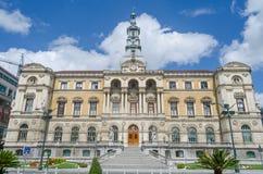 Το Ayuntamiento κάνει το Μπιλμπάο Στοκ Εικόνες