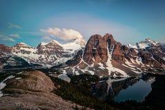 Το Banff τοποθετεί Assiniboine Καναδάς Στοκ Εικόνες