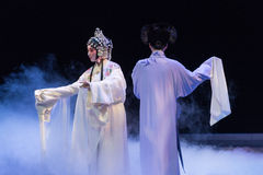 """Το Banished αθάνατο - Kunqu Opera""""Madame άσπρο Snake† Στοκ Εικόνα"""