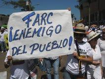 το Barranquilla διαμαρτύρεται το s στοκ εικόνες με δικαίωμα ελεύθερης χρήσης
