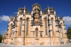 το batalha 1386 1517 χτίζει τον κόσμο της ΟΥΝΕΣΚΟ περιοχών της Πορτογαλίας μοναστηριών leiria κληρονομιάς estremadura περιοχής Στοκ εικόνα με δικαίωμα ελεύθερης χρήσης