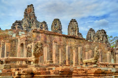 Το Bayon, ένας Khmer ναός σε Angkor στην Καμπότζη, Νοτιοανατολική Ασία Στοκ εικόνα με δικαίωμα ελεύθερης χρήσης