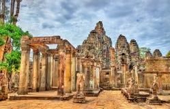 Το Bayon, ένας Khmer ναός σε Angkor στην Καμπότζη, Νοτιοανατολική Ασία Στοκ Φωτογραφίες