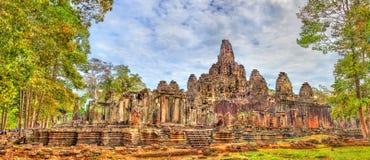Το Bayon, ένας Khmer ναός σε Angkor στην Καμπότζη, Νοτιοανατολική Ασία Στοκ φωτογραφίες με δικαίωμα ελεύθερης χρήσης