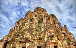 Το Bayon, ένας Khmer ναός σε Angkor στην Καμπότζη, Νοτιοανατολική Ασία Στοκ Φωτογραφία