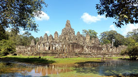 Το Bayon, Angkor, Siem συγκεντρώνει, Καμπότζη Στοκ φωτογραφίες με δικαίωμα ελεύθερης χρήσης