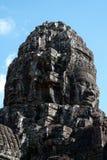 Το Bayon, Angkor Thom, Siem συγκεντρώνει την Καμπότζη Στοκ φωτογραφία με δικαίωμα ελεύθερης χρήσης
