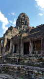 Το Bayon, Angkor Thom, Siem συγκεντρώνει την Καμπότζη Στοκ εικόνα με δικαίωμα ελεύθερης χρήσης