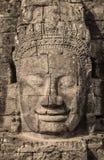 Το Bayon Castle ή ο Khmer ναός Prasat Bayon σε Angkor στο siem συγκεντρώνει Στοκ Φωτογραφία