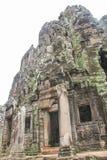 Το Bayon Castle στο ναό Siem Angkor Wat Angkor Thom συγκεντρώνει Στοκ φωτογραφία με δικαίωμα ελεύθερης χρήσης