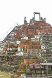 Το Bayon Castle στο ναό Siem Angkor Wat Angkor Thom συγκεντρώνει Στοκ Εικόνες