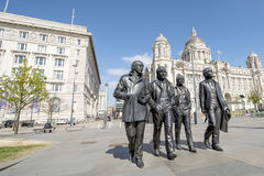 Το Beatles, Αλβέρτος Dock, Liverool Στοκ Φωτογραφία
