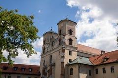 Το Benedictine αβαείο σε Tyniec (Πολωνία) Στοκ φωτογραφίες με δικαίωμα ελεύθερης χρήσης