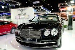 Το Bentley παρουσιάζει πρότυπο αυτοκινήτων στοκ φωτογραφία με δικαίωμα ελεύθερης χρήσης