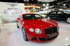 Το Bentley παρουσιάζει πρότυπο αυτοκινήτων στοκ φωτογραφία