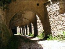 Το Biertan ενίσχυσε εκκλησιών το μεσαιωνικό της Τρανσυλβανίας εσωτερικό romani ανώτατων γοτθικό εσωτερικό Θεών καθεδρικών ναών οι στοκ φωτογραφίες