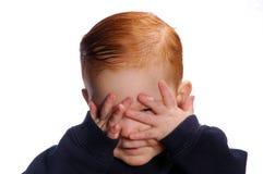 το boo κρυφοκοιτάζει Στοκ φωτογραφία με δικαίωμα ελεύθερης χρήσης