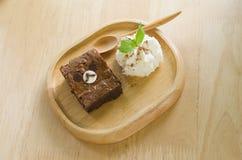 Το Brownies αντέχει Στοκ Φωτογραφίες