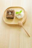 Το Brownies αντέχει Στοκ Εικόνες