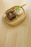 Το Brownies αντέχει Στοκ Εικόνα