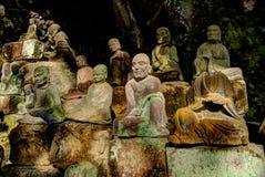 Το Buddas Στοκ φωτογραφίες με δικαίωμα ελεύθερης χρήσης