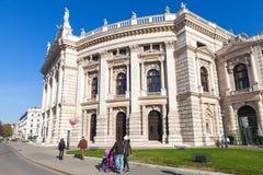 Το Burgtheater, Βιέννη, Αυστρία στοκ εικόνα με δικαίωμα ελεύθερης χρήσης