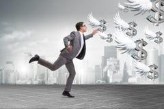Το businesspeople που χαράζει τη χρηματοδότηση επενδυτών αγγέλου Στοκ Φωτογραφίες