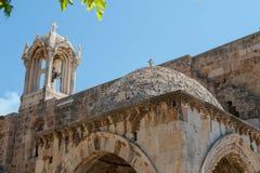 Το Byblos είναι μεσογειακή πόλη στο υποστήριγμα Λίβανος Στοκ φωτογραφία με δικαίωμα ελεύθερης χρήσης