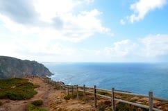 Το Cabo DA Roca, Πορτογαλία Στοκ Φωτογραφία
