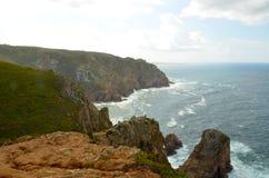 Το Cabo DA Roca, Πορτογαλία Στοκ Εικόνα