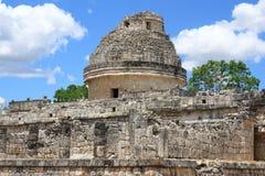 το caracol ο ναός του Μεξικού itza EL Στοκ φωτογραφίες με δικαίωμα ελεύθερης χρήσης