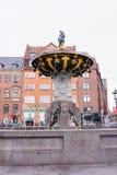 Το Caritas καλά, Κοπεγχάγη Στοκ φωτογραφία με δικαίωμα ελεύθερης χρήσης