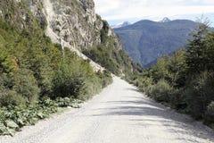 Το Carretera νότιο, Χιλή στοκ φωτογραφίες