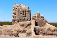 Το Casa Grande καταστρέφει το εθνικό μνημείο Αριζόνα Στοκ Εικόνα