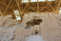 Το Casa Grande καταστρέφει το εθνικό μνημείο Αριζόνα Στοκ φωτογραφία με δικαίωμα ελεύθερης χρήσης