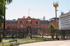 Το Casa Rosada σε Plaza de Mayo, Μπουένος Άιρες, Αργεντινή Στοκ Φωτογραφίες