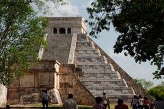 το castillo το itza Μεξικό EL Στοκ Φωτογραφίες