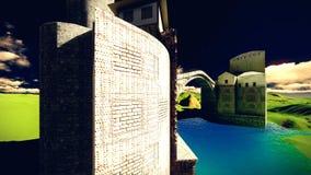 Το Castle δένει Στοκ φωτογραφίες με δικαίωμα ελεύθερης χρήσης