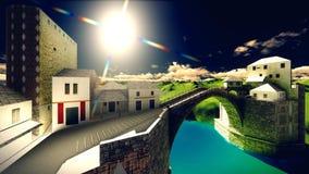 Το Castle δένει Στοκ Φωτογραφίες