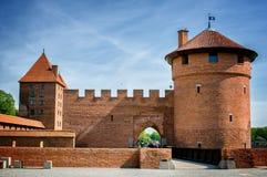 Το Castle της τευτονικής διαταγής σε Malbork Στοκ φωτογραφία με δικαίωμα ελεύθερης χρήσης