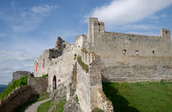 Το Castle Beckov Στοκ Εικόνα